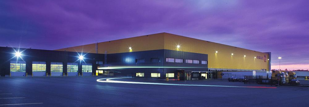 строительство складов и складских терминалов