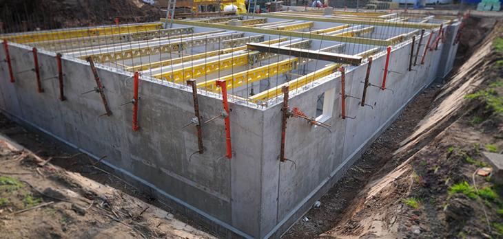 Фундаменты и монолитные конструкции