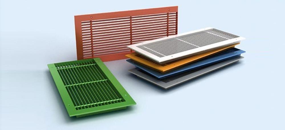 Вентиляционные решетки и другие изделия из алюминия